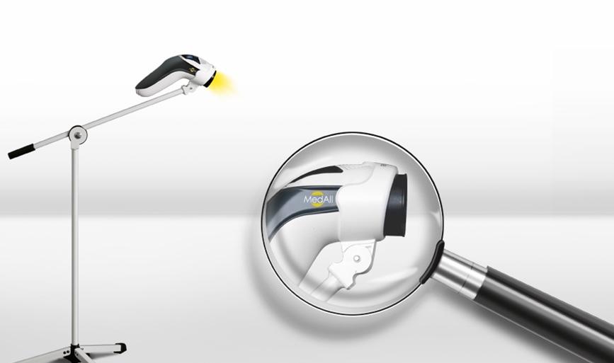 statyw podłogowy do lampy bioptron medall